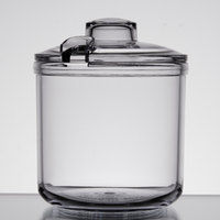 GET CD-8-CL Clear 8 oz. Condiment Jar with Lid