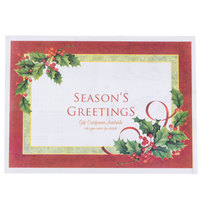Hoffmaster 311097 10 inch x 14 inch Gift Certificate Available Placemat - 1000 / Case