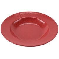 GET B-1609-EW-R Etchedware 16 oz. Textured Red Bowl - 12/Case