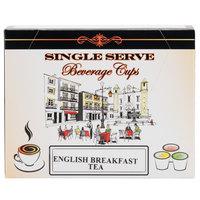 Caffe De Aroma English Breakfast Tea Single Serve Cups - 12 / Box