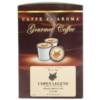 Caffe de Aroma Copen Legend Coffee Single Serve Cups - 24/Box
