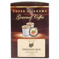 Caffe de Aroma Midnight Silk Coffee Single Serve Cups - 24/Box