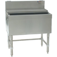 Eagle Group B36IC-19 Spec-Bar 19 inch x 36 inch Stainless Steel Ice Chest
