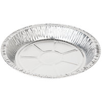 Baker's Mark 9 5/8 inch x 1 3/16 inch Deep Foil Pie Pan - 125 / Pack