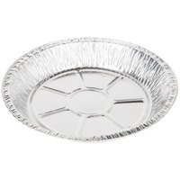Baker's Mark 9 inch x 1 3/16 inch Extra Deep Foil Pie Pan - 125 / Pack