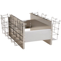 Eagle Group BR8-12-24 Spec-Bar® 8 Bottle Rack with Divider Walls for 24 inch x 12 inch Ice Chests