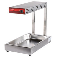 Avantco FFDS-1 Freestanding Infrared French Fry Warmer / Dump Station - 1000W, 120V