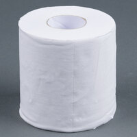 Lavex Janitorial Individually-Wrapped 1-Ply Standard 1000 Sheet Toilet Paper Roll - 24 / Pack