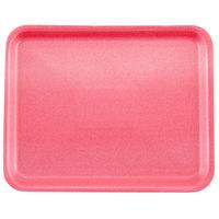 Genpak 1008S (#8S) Rose 10 1/4 inch x 8 1/4 inch x 1/2 inch Foam Supermarket Tray - 500 / Case