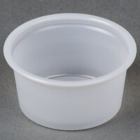 Dart Solo P075SN .75 oz. Translucent Polystyrene Souffle / Portion Cup   - 2500/Case