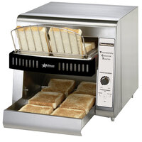 Toastmaster TCT1 Conveyor Toaster with 1 1/2 inch Opening - 120V, 1600W