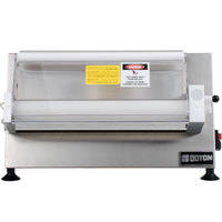 Doyon DL18SP Countertop 18 inch Dough Roller Sheeter, 250 Pieces/Hour - One Stage, Horizontal Rollers