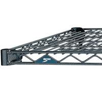 Metro 2142N-DSH Super Erecta Silver Hammertone Wire Shelf - 21 inch x 42 inch