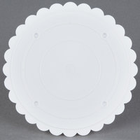 Wilton 302-6 Decorator Preferred Round Scalloped Edge Cake Separator Plate - 6 inch