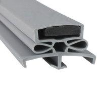 Traulsen SER-61097-00 Equivalent Magnetic Door Gasket - 23 1/2 inch x 59 1/2 inch