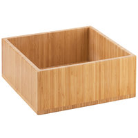 Cal-Mil 3367-60 Bamboo Cold Concept Cooling Base - 12 inch x 12 inch x 4 1/2 inch