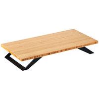 Cal-Mil 3374-4-60 Bamboo Stair-Step Riser - 24 inch x 4 inch