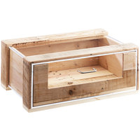 Cal-Mil 3416 Stackable Vintage Pastry Drawer - 22 inch x 14 1/2 inch x 6 1/2 inch