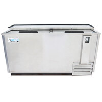 Avantco JBC-65S 65 inch Stainless Steel Commercial Horizontal Beer Bottle Cooler