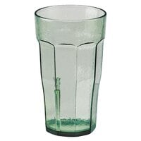 Cambro LT14427 Spanish Green Laguna Customizable Plastic Tumbler 14 oz. - 36/Case