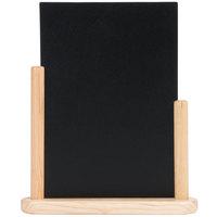American Metalcraft ELEBLA 9 inch x 12 inch Natural Wood-Finish Table Top Board
