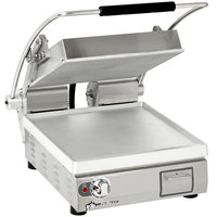Star PST14 Pro-Max® 2.0 Single 14 inch Panini Grill with Smooth Aluminum Plates - No Timer