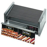 Star Grill-Max Pro 30STBDE 30 Hot Dog Roller Grill with Bun Drawer, Electronic Controls, and StalTek Non-Stick Rollers