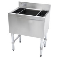 Advance Tabco SLI-12-36 Stainless Steel Underbar Ice Bin - 36 inch x 18 inch