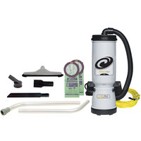 ProTeam 107345 MegaVac 10 Qt. Backpack Vacuum / Blower with Attachment Kit C