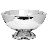Eastern Tabletop 7043H 12 Qt. Stainless Steel Insulated Hammered Ice Bowl