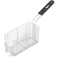 Vollrath FFB2250 9 inch x 8 inch x 5 inch Large Fryer Basket with Front Hook