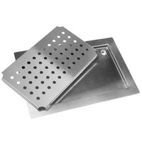 Advance Tabco DP-1842 Stainless Steel Countertop Drain Pan - 42 inch x 18 inch