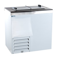Excellence HFF-2 Stainless Steel  Ice Cream Dipping Cabinet Freezer - 5 Cu. Ft.
