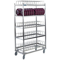 Lakeside 897 Stainless Steel Dome Drying Rack - 60 Dome Capacity