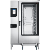 Cleveland Convotherm C4ET20.20GS Full Size Roll-In Boilerless Gas Combi Oven with easyTouch Controls - 218,400 BTU