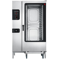 Cleveland Convotherm C4ED20.20GB Full Size Roll-In Gas Combi Oven with easyDial Controls - 327,600 BTU