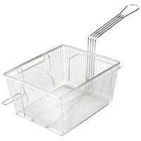 Star 216FBR 10 inch x 8 3/4 inch x 5 1/4 inch Full Size Fryer Basket with Right Hook