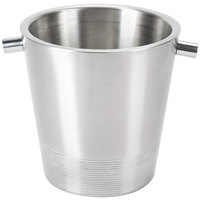 American Metalcraft SDWC7 7 inch Stainless Steel Double Wall Champagne Bucket