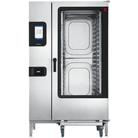 Cleveland Convotherm C4ET20.20GB Full Size Roll-In Gas Combi Oven with easyTouch Controls - 327,600 BTU