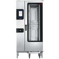 Cleveland Convotherm C4ET20.10GB Half Size Roll-In Gas Combi Oven with easyTouch Controls - 238,500 BTU