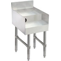 Advance Tabco CR-DB-12 Stainless Steel Double Step Blender Station - 12 inch x 26 inch