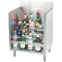 Advance Tabco CRLR-12 Stainless Steel Liquor Display Cabinet - 12 inch x 21 inch