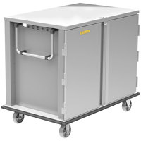 Alluserv TC22-32 Elite Stainless Steel 32 Tray 2 Door Meal Delivery Cart