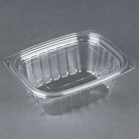 Dart Solo C12DCPR ClearPac 12 oz. Clear Rectangular Plastic Container with Lid - 252 / Case