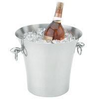 Vollrath 47617 Stainless Steel Fluted Wine Bucket with Handles
