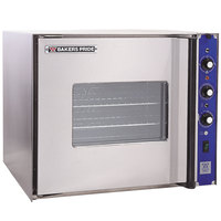 Bakers Pride COC-E1 Cyclone Series Single Deck Half Size Electric Convection Oven, Right Hand Hinge - 208V, 3 Phase, 9500W