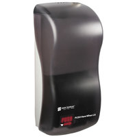 San Jamar SHF900TBK Rely Pearl Black Hybrid Touchless Foam Soap Dispenser - 5 1/2 inch x 4 inch x 12 inch