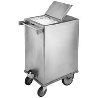 Lakeside 250 200 lb. Stainless Steel Ice Cart