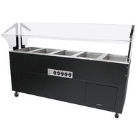 Advance Tabco BSW5-B-SB Enclosed Base Everyday Buffet Stainless Steel Five Pan Electric Hot Food Table - Sealed Well
