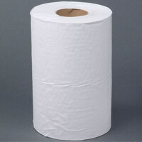 Lavex Janitorial White Roll Towel 350 Feet / Roll - 12 / Case